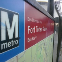 Photo taken at Fort Totten Metro Station by Kriz A. on 3/2/2011