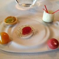 Photo taken at Pierre Gagnaire by Frederick L. on 7/9/2012