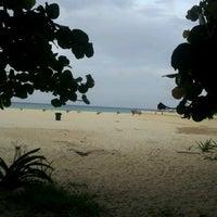 Photo taken at Playa Xaman-Ha by Ferdinando R. on 7/18/2012