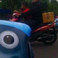 Photo taken at Pasar kaget juanda depok by sigit p. on 3/18/2012