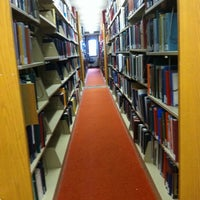 Photo taken at Norlin Library - University of Colorado at Boulder by Erin G. on 2/13/2012