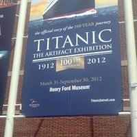 Photo taken at Titanic: 100th Anniversary Exhibit by Tashmica T. on 7/14/2012