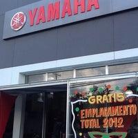 Photo taken at Yamaha Motovia by Luna R. on 2/14/2012