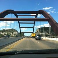 Photo taken at 360 Bridge (Pennybacker Bridge) by Winnie G. on 8/18/2012