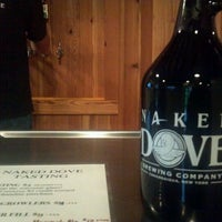Photo taken at Naked Dove Brewing Company by Visit F. on 9/23/2011