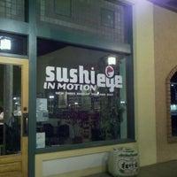 Photo taken at Sushi Eye in Motion by Kat D. on 4/20/2011