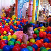 Photo taken at Kinderland Indoor Play and Café by Gayle princess Z. on 8/20/2012