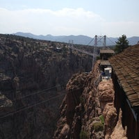 Photo taken at Royal Gorge Bridge & Park by Anna S. on 8/18/2012