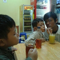 Photo taken at Bakso Bakar Putra arema by Desi D. on 7/5/2012