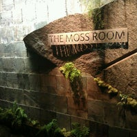 Photo taken at The Moss Room by Rob D. on 12/16/2011