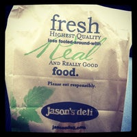 Photo taken at Jason's Deli by Ryan K. on 6/6/2012