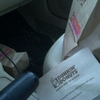 Photo taken at Dunkin' Donuts by Ashley V. on 9/7/2011