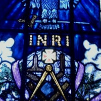 Photo taken at Humphrey Scottish Rite Masonic Center by Brad S. on 12/17/2011