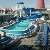 Photo taken at Carnival Cruise Paradise by Bianca G. on 9/23/2011