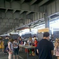 Photo taken at New Amsterdam Market by Luis S. on 6/24/2012