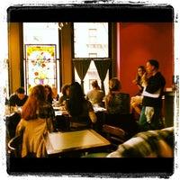 Photo taken at Jivamuktea Café by Ty M. on 10/23/2011