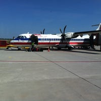 Photo taken at Joplin Regional Airport (JLN) by Brian R. on 7/15/2011