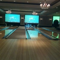 Photo taken at High Rollers Luxury Lanes & Lounge by Marc L. on 9/10/2012