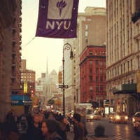 Photo taken at NYU 726 Broadway Building by Don K. on 11/7/2011