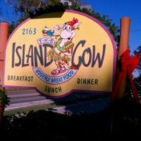 Photo taken at The Island Cow by Leslie M. on 12/30/2011