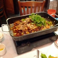 Photo taken at Hunan Kitchen Of Grand Sichuan by Anthony Y. on 1/13/2012
