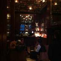 Photo taken at The Library at Hudson Hotel by Daniel C. on 1/3/2012