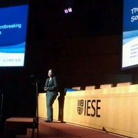 Photo taken at IESE Business School - North Campus by Conor N. on 11/8/2011