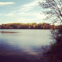 Photo taken at Core Creek State Park by Kyle H. on 10/23/2011