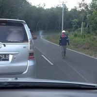 Photo taken at Perkebunan Karet Desa Merbau by Ferry Y. on 6/30/2012
