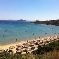Photo taken at Golden Beach by Argiris T. on 8/24/2012