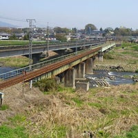 Photo taken at 安中鉄橋 by 月代 椋. on 4/28/2012