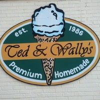 Photo taken at Ted & Wally's by Janet T. on 8/16/2012