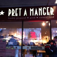 Photo taken at Pret A Manger by Patrice R. on 5/6/2012