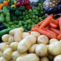 Photo taken at Mercado 24 de Agosto by German R. on 8/21/2011