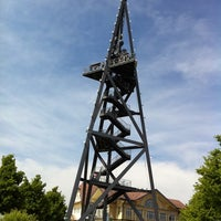 Photo taken at Uetliberg Aussichtsturm by freemo on 5/7/2011