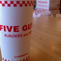 Photo taken at Five Guys by Gale V. on 3/26/2012