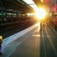 Photo taken at Parramatta Station by Brian C. on 5/17/2012