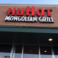 Photo taken at HuHot Mongolian Grill by Jeff P. on 4/22/2012