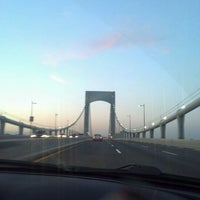 Photo taken at Throgs Neck Bridge Lookout Parking Lot by Butterfly on 3/3/2012