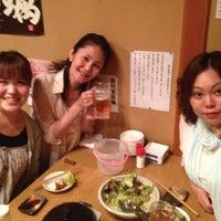 Photo taken at なごみや 一夜 by Aki M. on 6/8/2012
