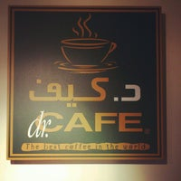 Photo taken at dr.CAFE COFFEE by Waleed K. on 4/17/2012