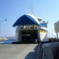 Photo taken at Cirkewwa Ferry Terminal by Michal M. on 8/19/2012
