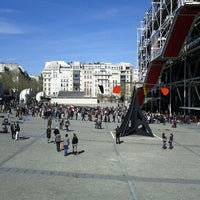 Photo taken at Place Georges Pompidou by Arran W. on 4/1/2012