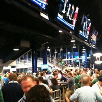 Photo taken at Boulevard Members Club at Sporting Park by Cara M. on 3/18/2012