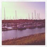 Photo taken at Burnham Yacht Harbour by Mark b. on 7/22/2012
