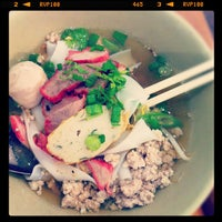 Photo taken at Hoy Ka Noodles by Benjamin B. on 7/15/2012