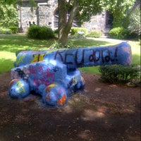Photo taken at Tufts Cannon by Seth L. on 8/8/2012
