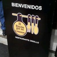 Photo taken at El Rincón que no Conoces by Aldo M. on 8/19/2012