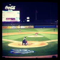 Photo taken at Coca-Cola Park by Susi B. on 4/15/2012