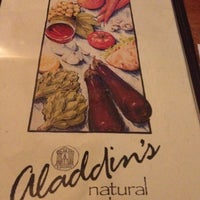 Photo taken at Aladdin's Natural Eatery by Caitlin P. on 4/14/2012